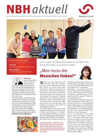NBH-aktuell, Ausgabe 01-2016